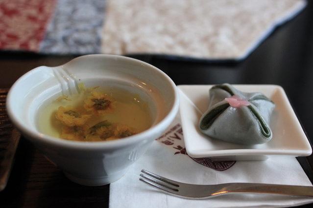 日本茶教室 菊茶