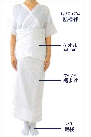 長襦袢 の 着 方