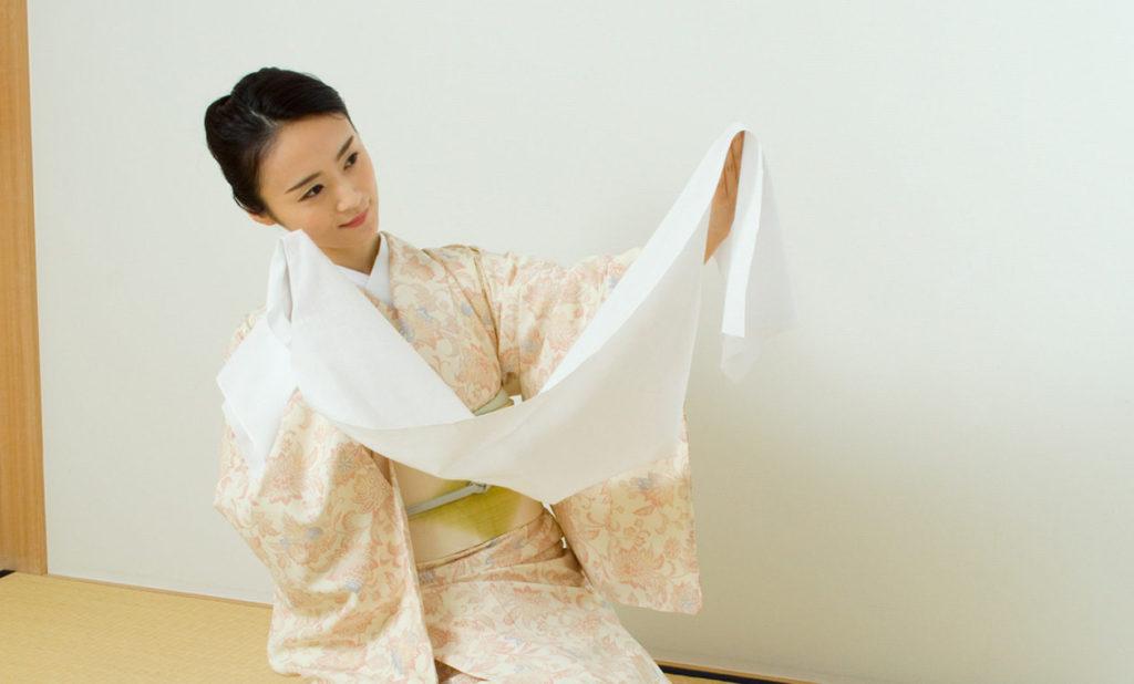 日本舞踊レッスン手拭い